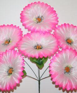Искусственные цветы —Маргаритка большая 6-ка непрес R-907