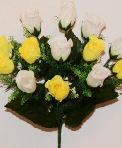 Искусственные цветы-Бутон с пластмасками 13-ка R-617
