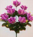 Искусственные цветы -Лилия с пластмасками 11-ка не прес R-829