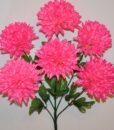 Искусственные цветы-Шар Хризантема большой 6-ка R-872
