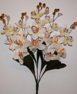 Искусственные цветы —Ирис крупный 5 веток не прес R-699