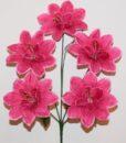 Искусственные цветы-Звёздочка с бусинкой 5-ка R-869
