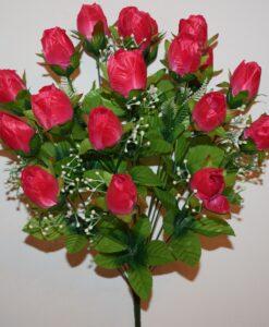 Искусственные цветы —Тюльпан с кашкой 18-ка непресованый R-906