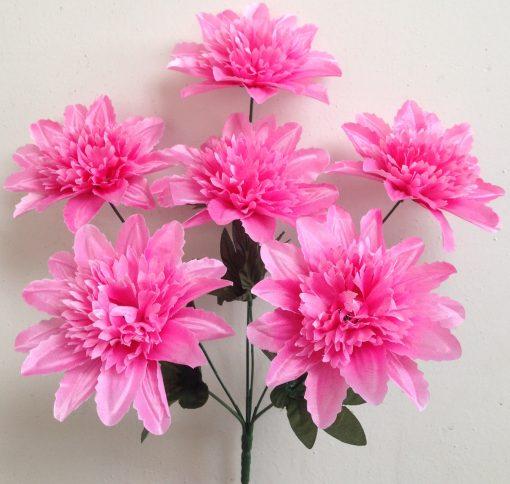 Искусственные цветы-Крокус шар атласный 6-ка R-888