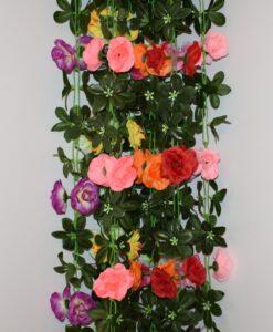 Искусственные цветы-ц.Роза камелия С-28
