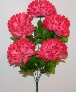 Искусственные цветы-Шар хризантема 5-ка R-916