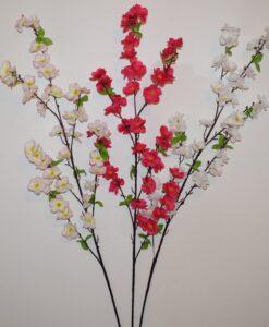 Искусственные цветы- Ветка Сакура большая B-92