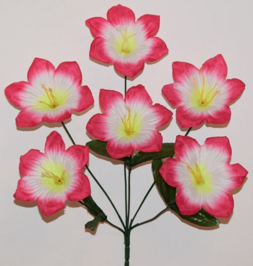 Искусственный цветок-Лилийка 6-ка R-995