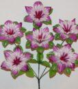 Искусственные цветы-Звездочка 6-ка непресованая R-921