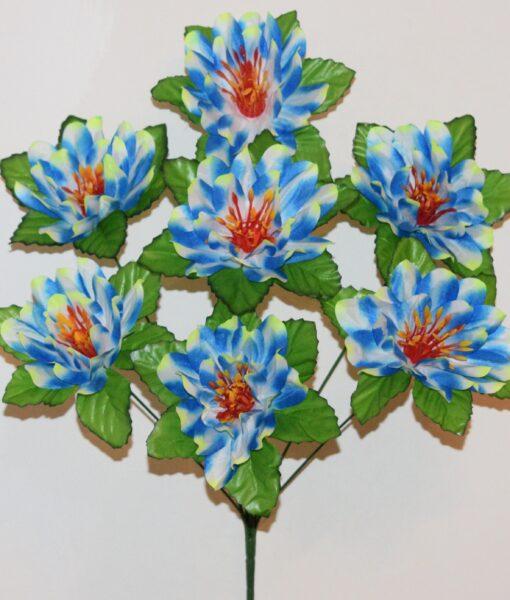 Искусственные цветы-Крокус радуга 7-ка R-929