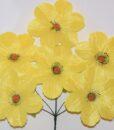 Искусственные цветы-Мальва с ресничками 6-ка не прес R-928DSC_0062