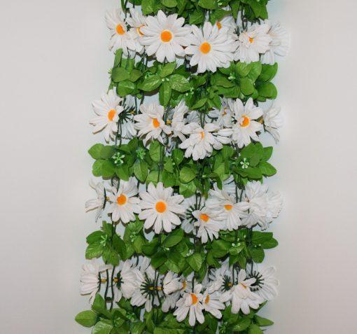 Искусственные цветы-ц.Ромашка белая большая С-31
