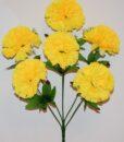 Искусственные цветы-Гвоздика большая 6-ка R-935