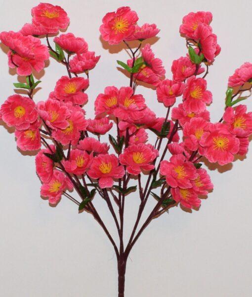 Искусственные цветы-Сакура атласна букет R-941
