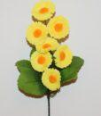 Искусственный цветок -Маргаритка высокая 7-ка Z-90