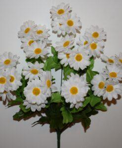 Искусственные цветы-Ромашка семейка цветная R-943