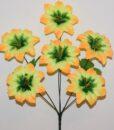 Искусственные цветы-Звёздочка 6-ка не пресованая R-937