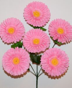 Искусственные цветы-Гербера 6-ка R-945