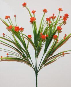 Искусственные цветы-Ананас пластмасовый букетик R-938