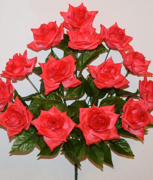 Искусственные цветы-Роза острая 14-ка не прес R-952