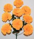 Искусственные цветы-Гвоздика новая 9-ка R-965