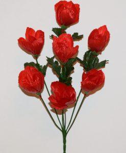 Искусственные цветы-Крокус 7-ка R-964