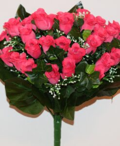 Искусственные цветы-Бутон люкс 36 голов не прес R-963