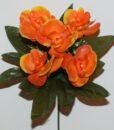 Искусственный цветок -Орхидея пластмасовая 5-ка Z-92