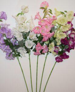 Искусственные цветы- Ветка Дельфиниум колокольчик не прес B-95