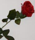 Искусственные цветы- Ветка Роза люкс не прес B-96