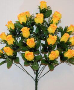 Искусственный цветок -Бутон с пластмасками 24 голов не прес R-976