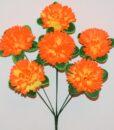 Искусственный цветок -Шар хризантема 6-ка не прес R-973