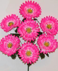 Искусственный цветок-Георгина гигант 7-ка не прес R-1007