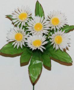 Искусственный цветок -Ромашка цвеная 6-ка не прес Z-92