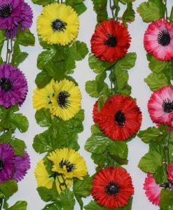 Искусственные цветы-ц.Мачок цветной С-33