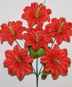 Искусственные цветы-Звезда с тычком 6-ка R-1097