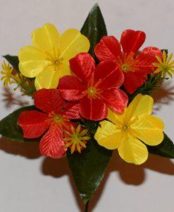 Искусственный цветок- Примула двухцветная атлас 5-ка Z-100