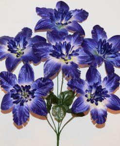 Искусственные цветы-Азалия распущеная 6-ка R-1090