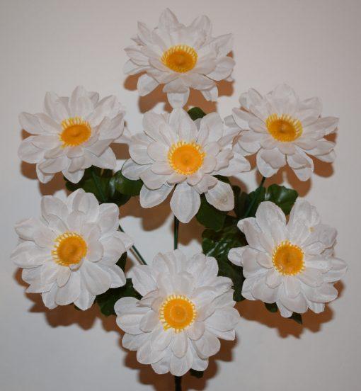 Искусственный цветок-Ромашка цветная 7-ка R-1009
