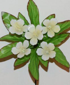 Искусственный цветок -Колокольчик пластмасовый 5-ка не прес Z-93
