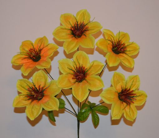 Искусственный цветок - Атлас высокий 6-ка R-955