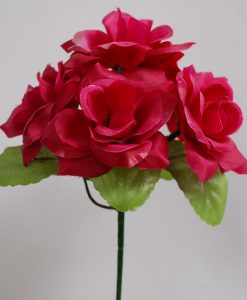 Искусственный цветок - Роза заливка Z-17