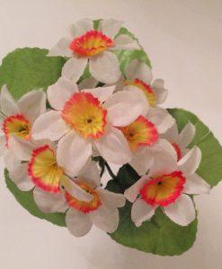 Искусственный цветок - Нарцис заливка Z-16