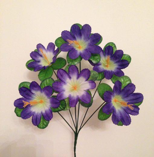 Искусственные цветы Далия 6-ка с кукурузкой R-106