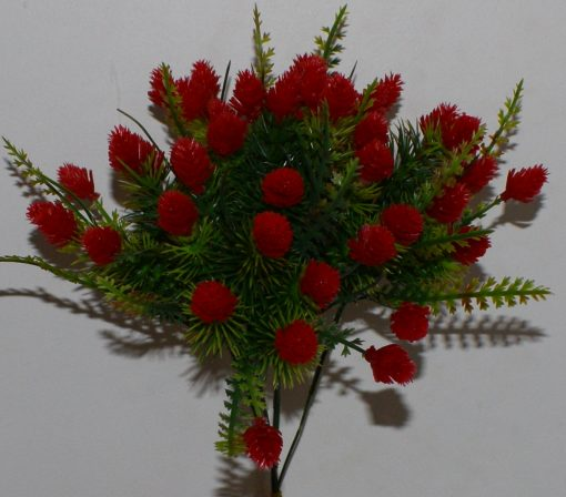 Искусственный цветок -заливка банзай шишечка Z-21