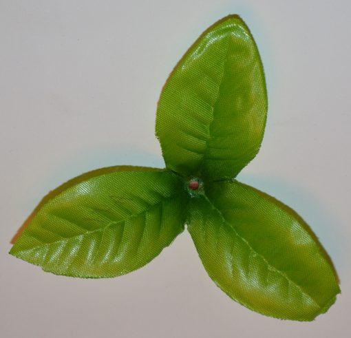 Искусственные цветы Листок дешовый 3-ка L-13