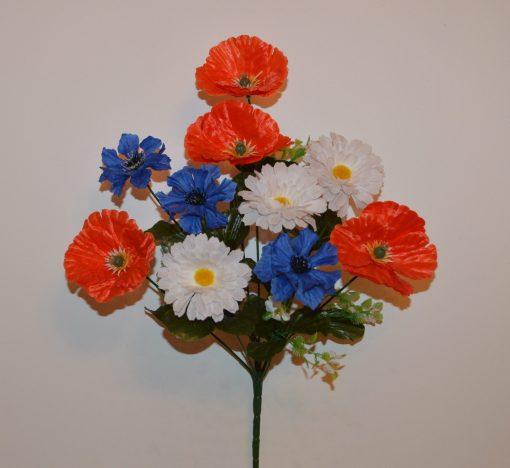 Искусственные цветы полевой букет R-158