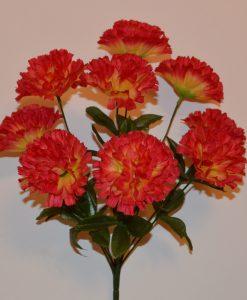 Искусственный цветок -Гвоздичка 9-ка R-186