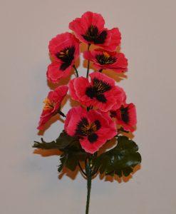 Искусственный цветок —ветка Анютины глазки B-23