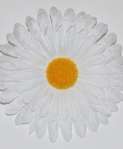 Искусственные цветы- Головка ромашка белая G-48